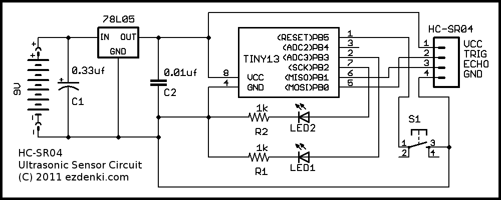 ultrasonic schematic hc sr04 schematic diagram circuit and schematics diagram ultrasonic sensor wiring diagram at nearapp.co